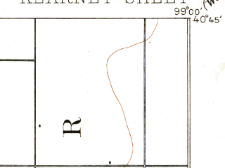 Reduced fragment of topographic map en--usgs--063k--056041--(1894)--N040-45_W099-15--N040-30_W099-00; towns and cities Kearney