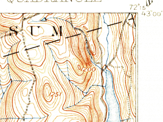 Reduced fragment of topographic map en--usgs--063k--056046--(1898)--N043-00_W072-30--N042-45_W072-15 in area of Spofford Lake; towns and cities Keene, Hinsdale, West Swanzey, Winchester