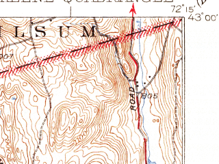 Reduced fragment of topographic map en--usgs--063k--056046--(1935)--N043-00_W072-30--N042-45_W072-15 in area of Spofford Lake; towns and cities Keene, West Swanzey, Winchester, Hinsdale