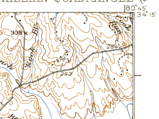 Reduced fragment of topographic map en--usgs--063k--056167--(1937)--N034-15_W081-00--N034-00_W080-45; towns and cities Columbia, Dentsville, Forest Acres, Woodfield, Arcadia Lakes