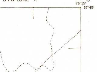 Reduced fragment of topographic map en--usgs--063k--056185--(1942)--N037-45_W076-30--N037-30_W076-15; towns and cities White Stone, Irvington, Kilmarnock