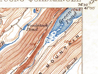 Reduced fragment of topographic map en--usgs--063k--056474--(1905)--N041-00_W074-45--N040-45_W074-30 in area of Lake Hopatcong; towns and cities Dover, Hopatcong, Succasunna, Wharton, White Meadow Lake