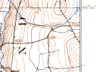 Reduced fragment of topographic map en--usgs--063k--057515--(1925)--N045-00_W072-15--N044-45_W072-00; towns and cities Barton, Derby Center, Newport