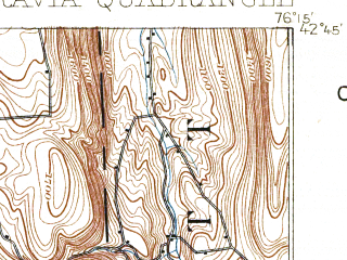 Reduced fragment of topographic map en--usgs--063k--057872--(1898)--N042-45_W076-30--N042-30_W076-15; towns and cities Freeville, Groton, Moravia