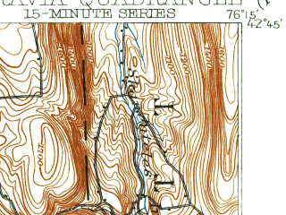 Reduced fragment of topographic map en--usgs--063k--057872--(1902)--N042-45_W076-30--N042-30_W076-15; towns and cities Freeville, Groton, Moravia
