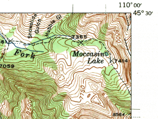 Reduced fragment of topographic map en--usgs--063k--057957--(1943)--N045-30_W110-15--N045-15_W110-00