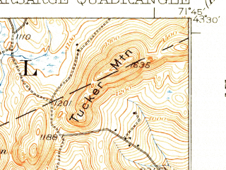 Reduced fragment of topographic map en--usgs--063k--058041--(1931)--N043-30_W072-00--N043-15_W071-45