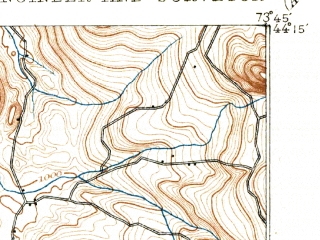 Reduced fragment of topographic map en--usgs--063k--058048--(1895)--N044-15_W074-00--N044-00_W073-45