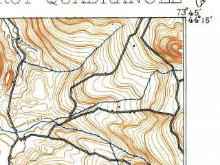 Reduced fragment of topographic map en--usgs--063k--058048--(1902)--N044-15_W074-00--N044-00_W073-45