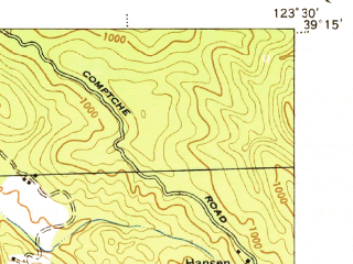 Reduced fragment of topographic map en--usgs--063k--058293--(1944)--N039-15_W123-45--N039-00_W123-30