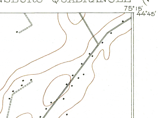 Reduced fragment of topographic map en--usgs--063k--060480--(1905)--N044-45_W075-30--N044-30_W075-15; towns and cities Ogdensburg, Heuvelton, Rensselaer Falls