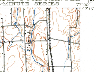 Reduced fragment of topographic map en--usgs--063k--060724--(1902)--N043-15_W077-15--N043-00_W077-00; towns and cities Newark, Palmyra, Sodus