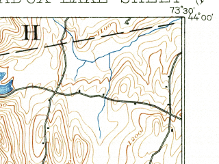 Reduced fragment of topographic map en--usgs--063k--060754--(1895)--N044-00_W073-45--N043-45_W073-30 in area of Paradox Lake