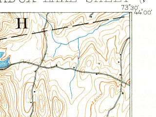 Reduced fragment of topographic map en--usgs--063k--060754--(1897)--N044-00_W073-45--N043-45_W073-30 in area of Paradox Lake
