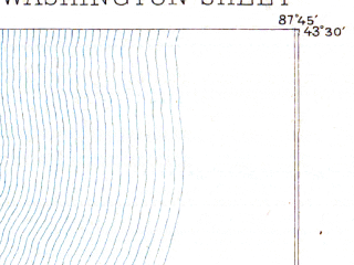 Reduced fragment of topographic map en--usgs--063k--061208--(1892)--N043-30_W088-00--N043-15_W087-45; towns and cities Grafton, Port Washington, Cedarburg, Saukville, Fredonia