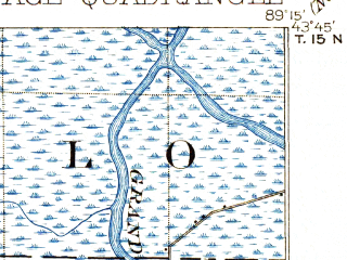 Reduced fragment of topographic map en--usgs--063k--061210--(1902)--N043-45_W089-30--N043-30_W089-15; towns and cities Portage, Endeavor, Pardeeville