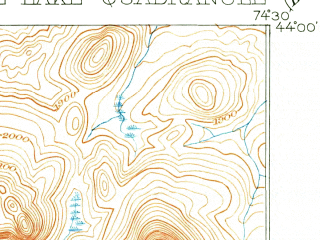 Reduced fragment of topographic map en--usgs--063k--061454--(1903)--N044-00_W074-45--N043-45_W074-30 in area of Raquette Lake, Forked Lake, Brandreth Lake