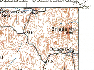 Reduced fragment of topographic map en--usgs--063k--061579--(1939)--N042-00_W074-00--N041-45_W073-45; towns and cities Kingston, Lake Katrine, Port Ewen, Red Hook