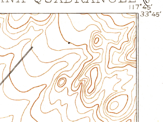 Reduced fragment of topographic map en--usgs--063k--062125--(1901)--N033-45_W118-00--N033-30_W117-45 in area of Newport Bay; towns and cities Santa Ana, Irvine, Newport Beach, Tustin, Costa Mesa