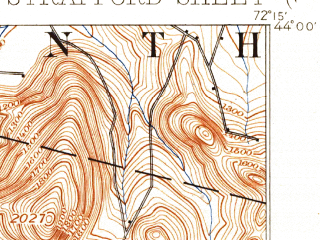 Reduced fragment of topographic map en--usgs--063k--063022--(1896)--N044-00_W072-30--N043-45_W072-15