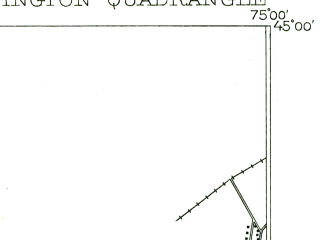 Reduced fragment of topographic map en--usgs--063k--064145--(1905)--N045-00_W075-15--N044-45_W075-00; towns and cities Morrisburg, Waddington