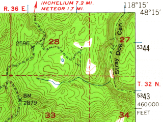 Reduced fragment of topographic map en--usgs--063k--064589--(1948)--N048-15_W118-30--N048-00_W118-15