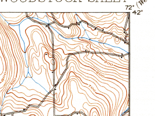 Reduced fragment of topographic map en--usgs--063k--064710--(1892)--N042-00_W072-15--N041-45_W072-00