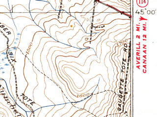 Reduced fragment of topographic map en--usgs--063k--072743--(1926)--N045-00_W072-00--N044-45_W071-45; towns and cities Island Pond