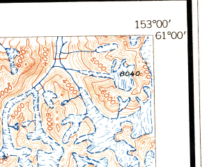 Reduced fragment of topographic map en--usgs--250k--068866--(1946)--N061-00_W156-00--N060-00_W153-00 in area of Lake Clark, Telaquana Lake, Whitefish Lake; towns and cities Port Alsworth