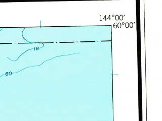 Reduced fragment of topographic map en--usgs--250k--075054--(1948)--N060-00_W147-00--N059-00_W144-00