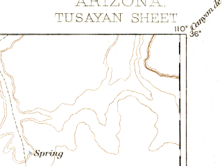 Reduced fragment of topographic map en--usgs--250k--322214--(1883)--N036-00_W111-00--N035-00_W110-00; towns and cities Winslow, Hotevilla, Keams Canyon, Kykotsmovi Village