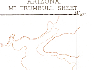 Reduced fragment of topographic map en--usgs--250k--322233--(1886)--N037-00_W114-00--N036-00_W113-00