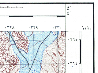 Reduced fragment of topographic map he--rjgc--050k--29-35-e--(1993)--N029-30_E035-00--N029-15_E035-15