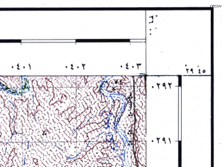 Reduced fragment of topographic map he--rjgc--050k--29-35-l--(1993)--N029-45_E035-45--N029-30_E036-00
