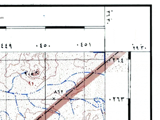 Reduced fragment of topographic map he--rjgc--050k--29-36-f--(1993)--N029-30_E036-15--N029-15_E036-30