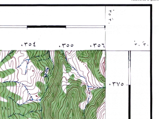 Reduced fragment of topographic map he--rjgc--050k--30-35-f--(1993)--N030-30_E035-15--N030-15_E035-30
