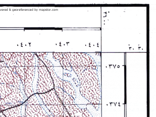 Reduced fragment of topographic map he--rjgc--050k--30-35-h--(1993)--N030-30_E035-45--N030-15_E036-00