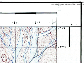 Reduced fragment of topographic map he--rjgc--050k--30-36-f--(1993)--N030-30_E036-15--N030-15_E036-30
