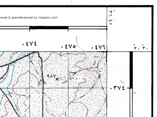 Reduced fragment of topographic map he--rjgc--050k--30-36-g--(1993)--N030-30_E036-30--N030-15_E036-45