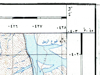 Reduced fragment of topographic map he--rjgc--050k--30-36-i--(1993)--N030-45_E036-00--N030-30_E036-15