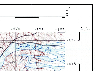 Reduced fragment of topographic map he--rjgc--050k--30-36-o--(1993)--N031-00_E036-30--N030-45_E036-45