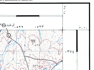 Reduced fragment of topographic map he--rjgc--050k--30-37-e--(1993)--N030-30_E037-00--N030-15_E037-15