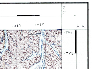 Reduced fragment of topographic map he--rjgc--050k--30-37-f--(1993)--N030-30_E037-15--N030-15_E037-30