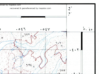 Reduced fragment of topographic map he--rjgc--050k--30-37-j--(1993)--N030-45_E037-15--N030-30_E037-30
