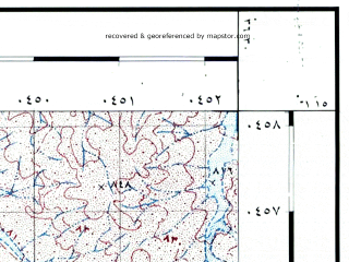Reduced fragment of topographic map he--rjgc--050k--31-36-b--(1993)--N031-15_E036-15--N031-00_E036-30