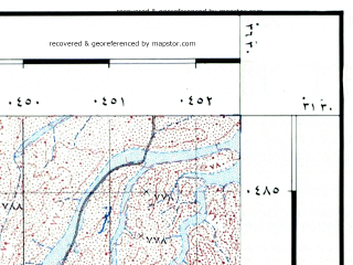 Reduced fragment of topographic map he--rjgc--050k--31-36-f--(1993)--N031-30_E036-15--N031-15_E036-30