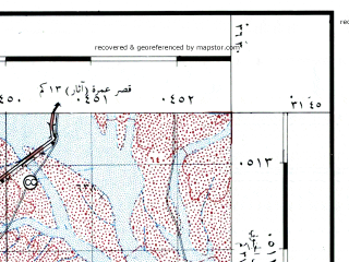Reduced fragment of topographic map he--rjgc--050k--31-36-j--(1993)--N031-45_E036-15--N031-30_E036-30