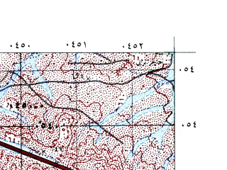 Reduced fragment of topographic map he--rjgc--050k--31-36-n--(1993)--N032-00_E036-15--N031-45_E036-30