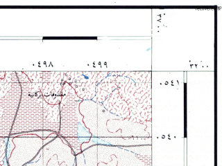 Reduced fragment of topographic map he--rjgc--050k--31-36-p--(1993)--N032-00_E036-45--N031-45_E037-00