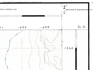 Reduced fragment of topographic map he--rjgc--050k--31-37-e--(1993)--N031-30_E037-00--N031-15_E037-15; towns and cities Al Hadithah